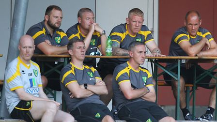 Alex Neil and his management team ran the rule over Norwich City's youngsters in a 7-0 friendly win