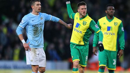 Norwich City's record signing Ricky van Wolfswinkel could be set for a loan return to former club Sp