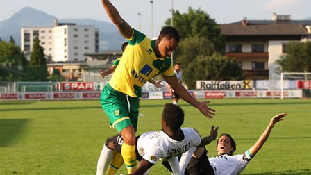Norwich City's Elliott Bennett has increasingly featured at right-back under Alex Neil. Picture by P