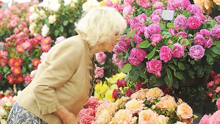 The Duchess of Cornwall at last year's show. Picture: Ian Burt