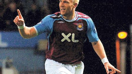 Dean Ashton in action for West Ham United. Picture: PA