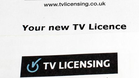 File photo dated 25/03/14 of a TV licence. Photo credit: Steve Parsons/PA Wire