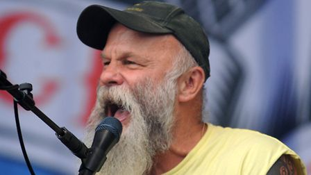 Seasick Steve plays the Obelisk Stage at the Latitude Festival in 2011
