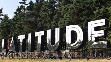Latitude Festival 2015.Thursday arrivals day on the site at Henham Park in Suffolk.Picture: James Ba