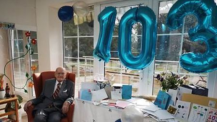 Wilfred Goddard was sent 300 cards by well-wishers