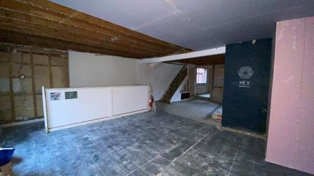 Around 2000 sqft of space is included in the sale