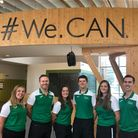 The City Academy Norwich PE team from left to right are Megan Turnbull,Neil Moggan, Bryony Radley, Jon Larner, Jenny Kitson-Cook andChrisTaylor.