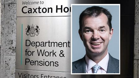 Pensions minister Guy Opperman... urging retired people to claim Pension Credit
