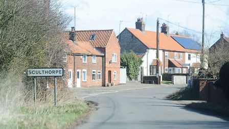 Sculthorpe, where developers want to build 200 homes. Picture: Ian Burt