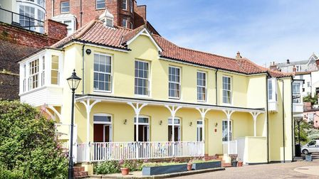 The Bath House, Cromer, which is being converted into four new homes. Picture: SOWERBYS