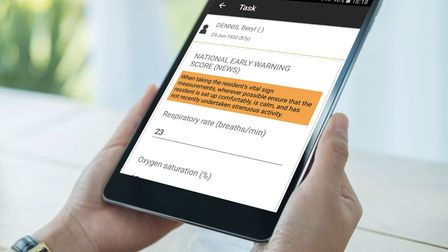 New monitoring app in east London care homes linked directly to GP surgeries