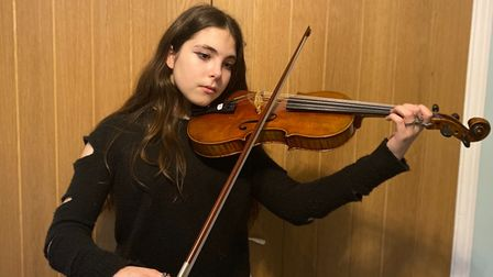Hannah Page, student at Felsted School