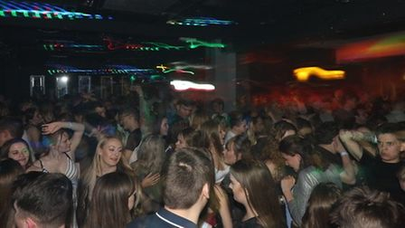 A packed night in The LP prior to the pandemic. Will clubbers ever enjoy a night out like this again