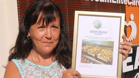 Sue Reeves Pride of Whittlesey awards