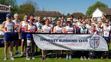 Thorney Running Club Pride of Whittlesey awards
