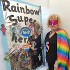 Pupils and teachers at Norfolk schools turned superheroesto send a thank you message to frontline workers.