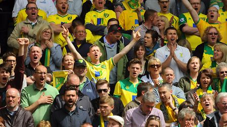Norwich City fans have ensured a home sell-out for the opening game of the new season. Picture: DENI