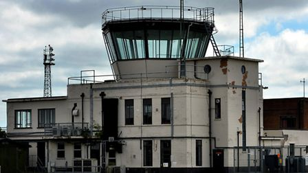 The control tower could be turned into a museum at the former RAF Coltishall. Photo: Bill Smith