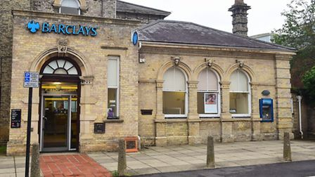 The Bungay branch of Barclays Bank is set to close.