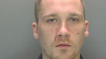 LewisHaberghamhas been jailed for more than three years following a vicious attack on hisex-girlfriend.