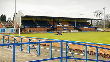 The Walks, the home of King's Lynn Town. Picture: IAN BURT