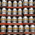 A beer stockpile which has been growing due to the lockdown restrictions in place.