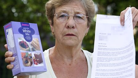 Valerie Sullivan, 70, is a Coeliac and can only eat gluten free foods. The North Norfolk Clinical Co