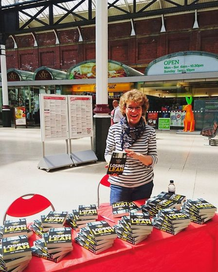 Sue Welfare from Downham Market has finished her second crime novel called After Annie.