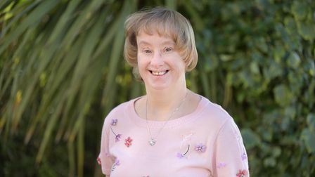 Karen Higgs, who has a congenital heart condition and Down's Syndrome, has just celebrated her 50th birthday