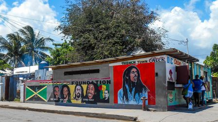 A mural in downtown Kingston