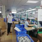man in chinese factory