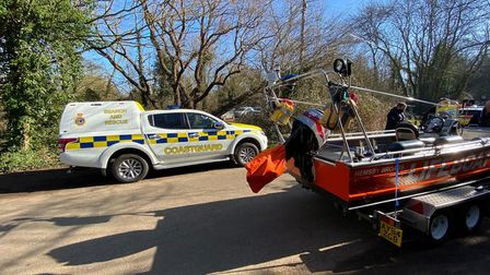 Hemsby Broads Rescue was called out to Horstead.