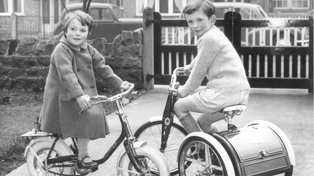 Sunbeam tricycles and pavement cycles, built to the same exciting standards as Raleigh's adult cycle