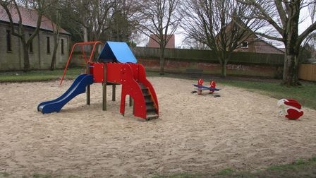 Duoro Place playground in Norwich