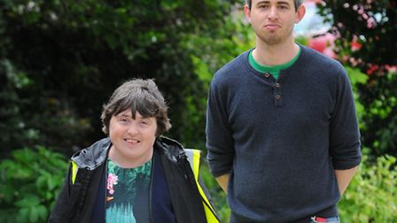 Suzie Reeves who runs health walks for people across Norwich and has overcome her own learning disab