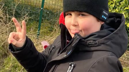 Eight-year-old Thomas Shepherd, of Doddington, has raised £1,300 by walking 310,000 steps in a month.