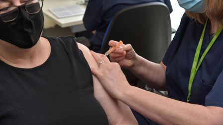 A large-scale Covid vaccination centre has opened in Harleston
