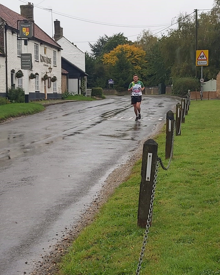 Corporal (Cpl) Dungay, from RAF Marham, ran a virtual marathon around Marham and the local area at the end of 2020 to...