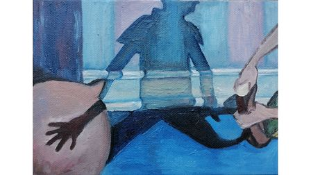 Creative duo Slop open new online art exhibition Lockdown Slop, showcasing the work of five East Anglian artists.