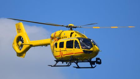An air ambulance, land ambulance and several fire crews have been called to the Persimmon Homes site off Ellen Aldous...