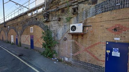 Tidworth Road in Bow where illegal rave was staged