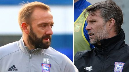 Matt Gill and Jimmy Walker are helping to lead Ipswich Town following Paul Lambert's exit