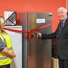 March deputy mayor Ray Jack opened Fenland's first ever community fridge located at FACT's Community Hub on Martin Avenue.