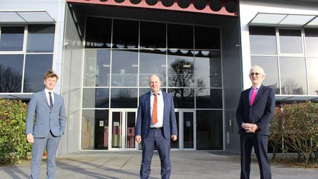 Andrew Denny, Graham Denny and Barry Denny as Denny Bros prepares to become an Employee Ownership Trust