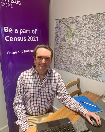 Tim Buttle, census engagement manager for East Suffolk