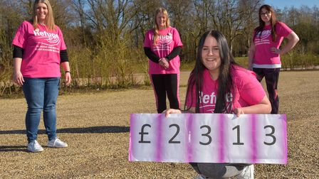 The family and friends of Gemma Conwey have raised money doing the Run for Refuge challenge in her m