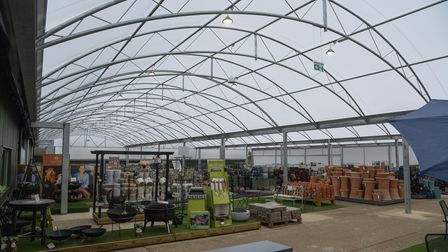 Holt Garden Centre which has re-opened after undergoing major refurbishments. Picture: Danielle Bood