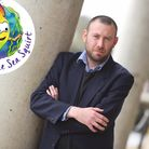 Ezra Hewing, head of education at Suffolk Mind, who is behind the book appeal