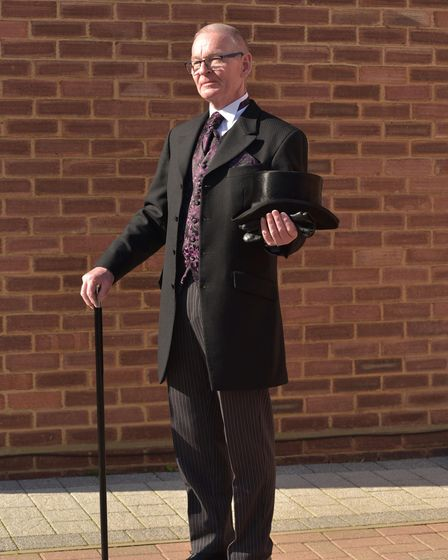 Funeral Director Alistair Parker from Ipswich