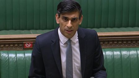 Chancellor of the Exchequer Rishi Sunak delivering his Budget to the House of Commons. Picture date: